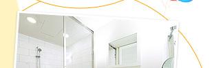 ポイント3 ご滞在人数に合わせて選べる幅広いタイプの客室をご用意。バスルームは全室洗い場付でトイレとセパレートなので、バスタイムもゆったり。