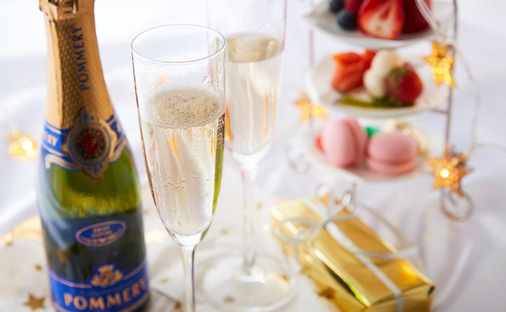 シャンパン&オードブルお届けプラン(イメージ)