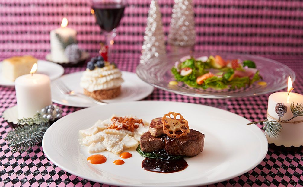 ラウンジで楽しむ冬のディナーセット付プラン(イメージ)