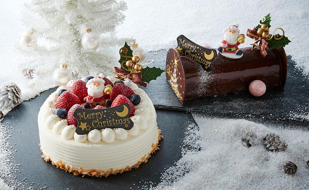 ケーキをお部屋にお届け♪クリスマスケーキプラン(イメージ)