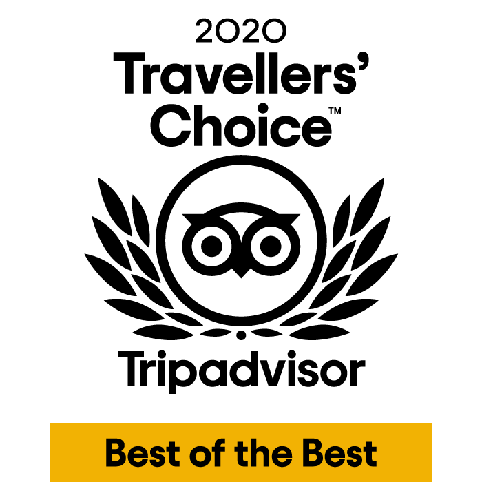 Travelers' Choice Best of the Best 2020